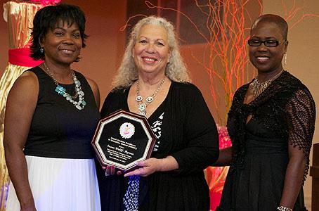 Congratulations, Ms. Hyman on your Award!